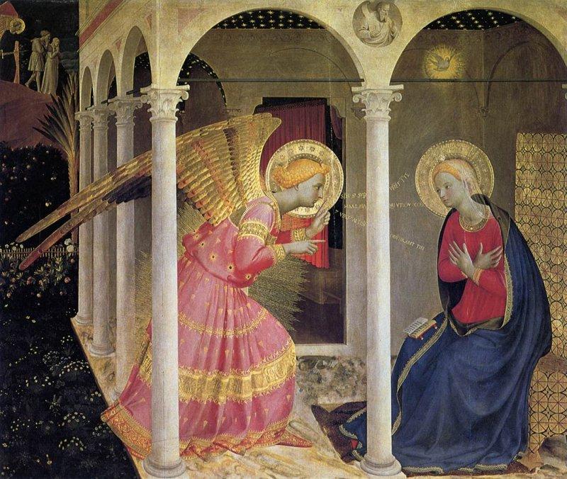 Annunciazione (part.)_Museo Diocesano-Cortona